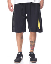 Basic Essentials - Contrast - Trim Mesh Nylon Shorts
