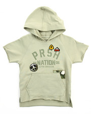 Boys - S/S PEACE OUT PULLOVER HOODY (4-7)