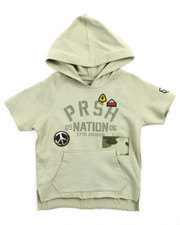Hoodies - S/S PEACE OUT PULLOVER HOODY (2T-4T)