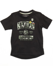 Tops - PEACE OUT GRAPHIC TEE (2T-4T)