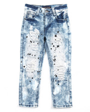 Arcade Styles - RIP N' REPAIR CLOUD WASH JEANS (4-7)