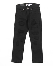 Boys - DISTRESSED BULL DENIM JEANS (4-7)
