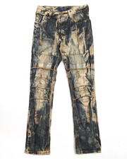 Jeans - DISTRESSED JEANS W/ SLICED KNEES (8-20)