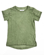 Boys - OIL WASH MOTO TEE (4-7)