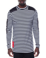 Shirts - STRIPE ME DOWN L/S CREW