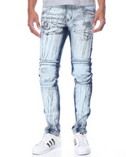 Men - Hot Streak Moto Denim Jeans