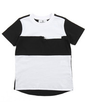Akademiks - ELONGATED COLOR BLOCK TEE (4-7)