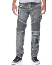 Jeans & Pants - Slim Moto - Style Denim Jeans