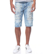 Basic Essentials - Rip - And - Repair Denim Shorts