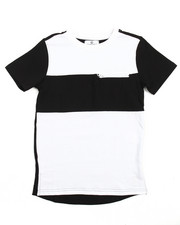 Akademiks - ELONGATED COLOR BLOCK TEE (8-20)