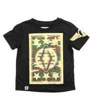 Akademiks - CAMO REFLECTION TEE (4-7)