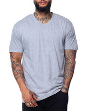 Shirts - Cotton V - Neck S/S Tee (B&T)
