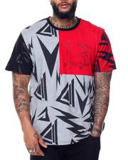 T-Shirts - Pattern Two Tone T-Shirt