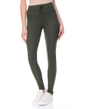 Women - Ribbed Knee Pant