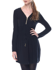 Dresses - Under The Lights Dress W/ 3/4 Sleeve