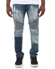 Men - SWEEPER MOTO JEANS