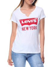 Levi's - Split V-Neck Graphic Tee