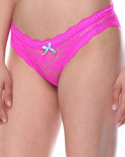 Panties - Allover Lace 3Pk Panties