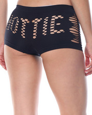 Panties - Hottie Cut Out/ Stripe/Solid  Seamless 3Pk Shorts