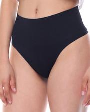Panties - Control Waist Seamless Thong