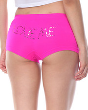 Women - Love Me Sequin Trim Seamless 3Pk Shorts