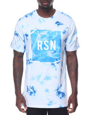 Men - BLUE POINT MARBLE LOGO TEE