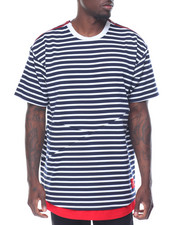 Men - JAGGED EDGE STRIPE TEE