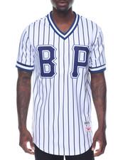 Stylist Picks - B P Pinstripe S/S Baseball - Style Jersey