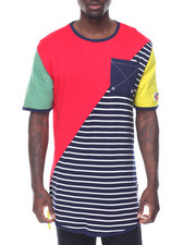 Men - MAKO HALF STRIPE TEE