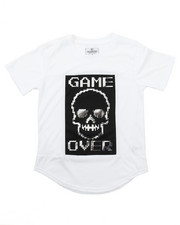 Akademiks - ELONGATED GAME OVER FOIL TEE (8-20)