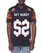 Men - Pay Me S/S Football - Style Jersey