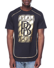 Buyers Picks - Real Baller Foil Tee