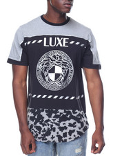 Buyers Picks - Luxe Medusa Foil Scallop Tee