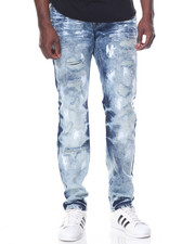 Men - SWILL DISTRESSED PAINT SPLATTER JEANS