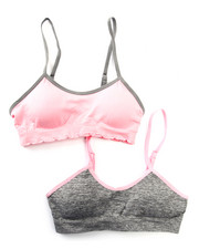 DRJ Underwear Shop - Teen 2Pk Padded Seamless Bra