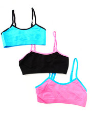 Girls - Teen 3Pk Seamless Bra