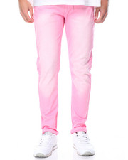Jeans & Pants - Stretch Twill Color Dye Skinny Jean