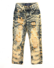 Boys - RIP N' REPAIR CLOUD WASH JEANS (4-7)