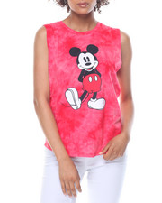 Graphix Gallery - Mickey Mouse Tie Dye Muscle Tank