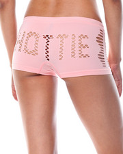 DRJ Lingerie Shoppe - Hottie Cut Outs/Space Dye  Seamless 3Pk Shorts