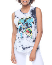 Graphix Gallery - Batman & Robin Tie Dye Muscle Tank