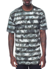 Men - S/S Tie Dye Stripe Tee