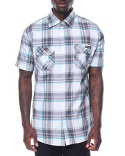 Men - Plaid S/S Button-Down