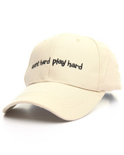 "Accessories - ""Work Hard, Play Hard"" Cap"
