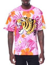 Men - S/S Tie Dye Tiger