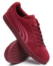 Men - Suede Classic Badge Sneaker