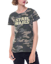 Graphix Gallery - Star Wars Camo Enzyme Washed Tee