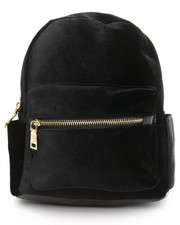 Bags - Velvet Mini Back Pack