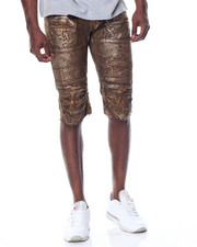 Buyers Picks - Print - Wash Foil Denim Short