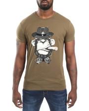 Men - Monkey / Cigar S/S Tee